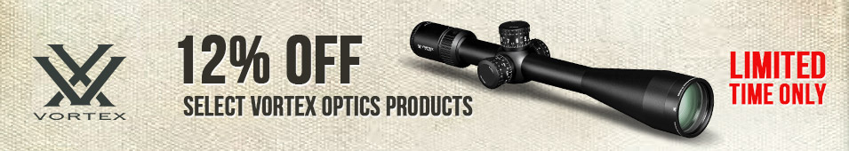 12% Off Select Vortex Optics Products (EXPIRED)